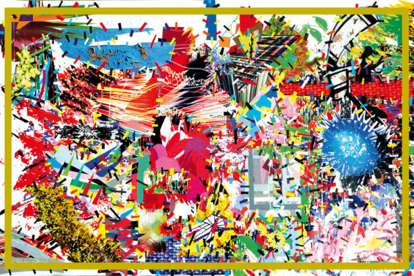 assume vivid astro focus Basso Explosion (4 Yusi), 2009, 2016, Digitally printed carpet, 72 x 108.4 in., Courtesy the Artist