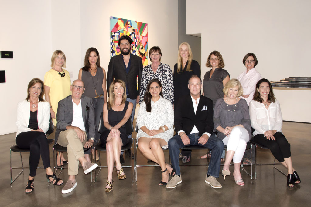 Museum of Contemporary Art SB Board Members and E.D.