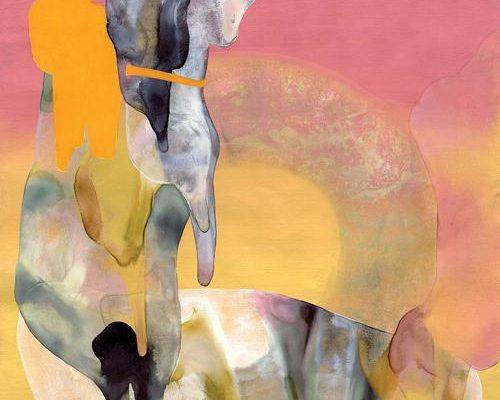 Maria Rendón, <em>Untitled</em>, 2015, Acrylic on paper, 12 x 9 in., Courtesy the Artist