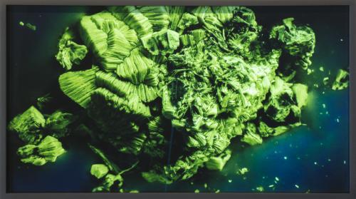 Amie Siegel, RM # 1-21, 2014, Suite of 21 chromogenic color prints, Dimensions variable, Installation photo: Wayne McCall, Courtesy Ratio 3, San Francisco and Simon Preston Gallery, New York.