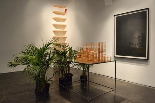 Jorge Méndez Blake installation for <em>Requiem for the Bibliophile</em> at Museum of Contemporary Art Santa Barbara, September 6 - January 4, 2015. Photo: Wayne McCall