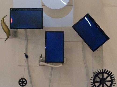 Marco Pinter, <em>Object Permanence I</em>, 2011, Mix media, Dimensions variable, Courtesy the Artist