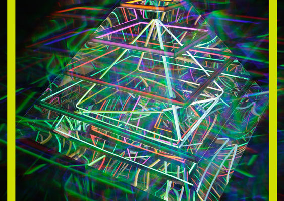 assume vivid astro focus, <em>Nothing Novel, Nothing Strange</em> Neon Pyramid at Peres Projects, Berlin, 2008