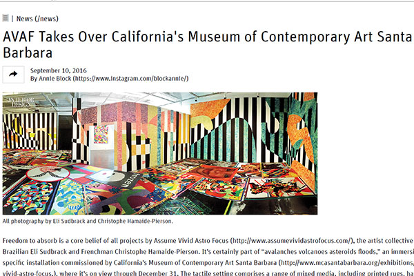 MCASB Museum of Contemporary Art Santa Barbara