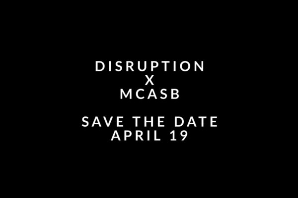 Disruption Save the Date