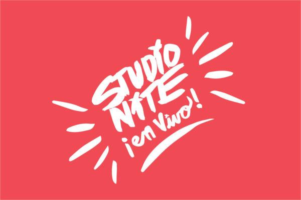 Disruption 2017: Studio Nite en Vivo Logo Reversed