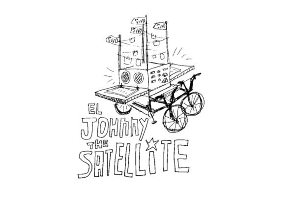 Cruz Ortiz, El Johnny the Satellite, Courtesy the artist