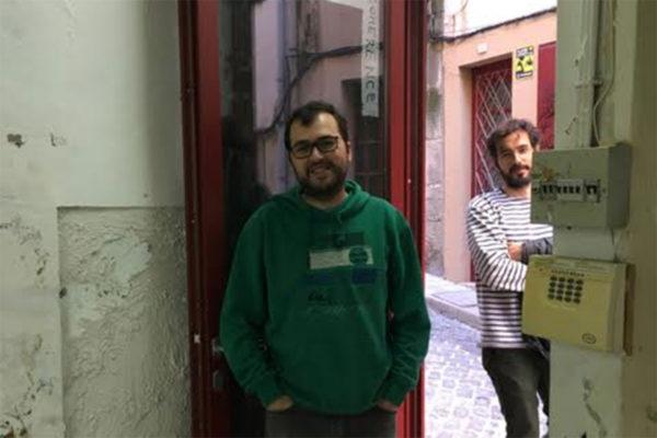 André Sousa & Mauro Cerqueira. Photo courtesy of the artists.
