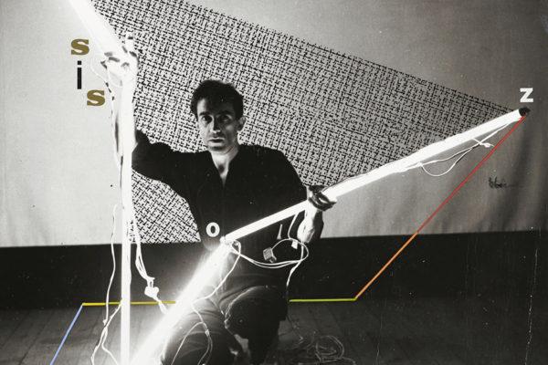 Silvestre Pestana, <em>Biovirtual</em>, 1986, Black and white photographs with gouache 7.1 x 7.1in., Photo: Filipe Braga © The Serralves Foundation, Porto.