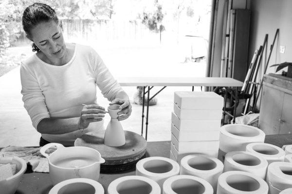 Sandra Torres in studio. Photo by Simone Noble, Courtesy the Artist