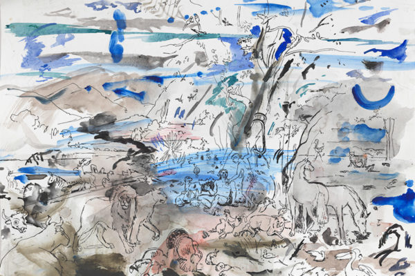 Cecily Brown, Untitled (Paradise), 2014