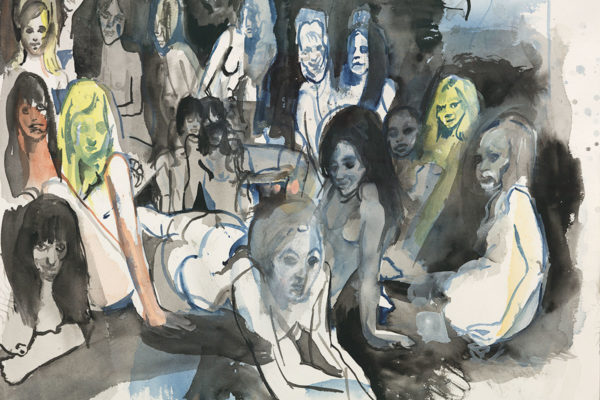 Cecily Brown, Untitled (Ladyland)