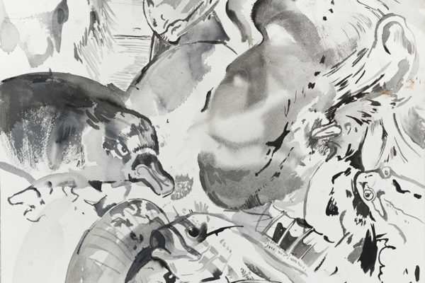 Cecily Brown, Untitled (Bestiary)(detail), 2011