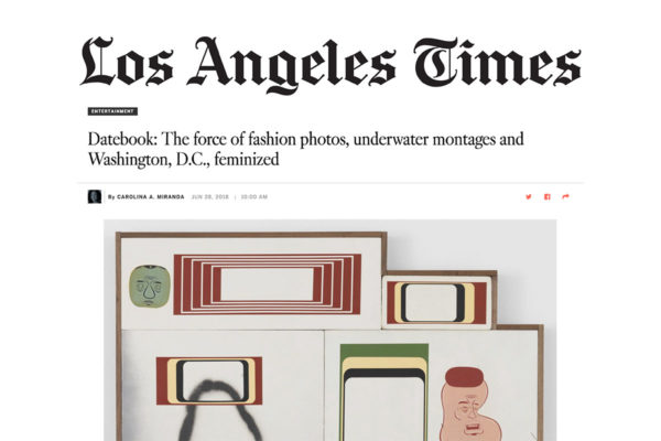LA Times Datebook Header Image