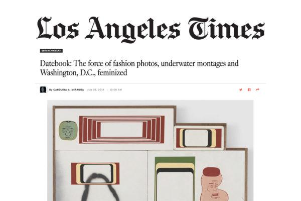 LA Times Datebook Header Image