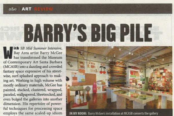 Santa Barbara Independent Barry McGee Header Image