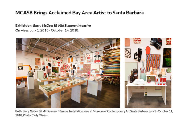 Barry McGee July Press Release Header Image