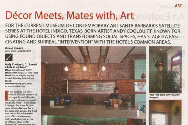 Santa Barbara News Press Andy Coolquitt Header Image