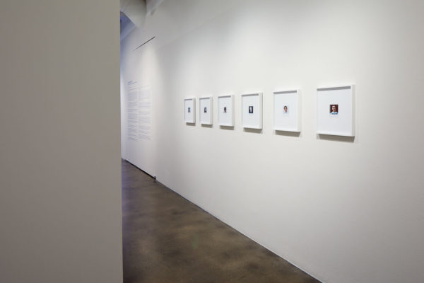 James Benning, <em>Twenty Cigarettes</em>, 2011, Photograph, 15 9/16 x 13 9/16 x 1 1/2 in., Installation view, Photo Courtesy Alex Blair © 2019