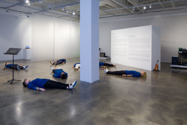 Sora Kim, <em>Breathe</em>, 2017, Kunsthalle for Music, Museum of Contemporary Art Santa Barbara, 2019, Courtesy MCASB, Photo: Alex Blair.