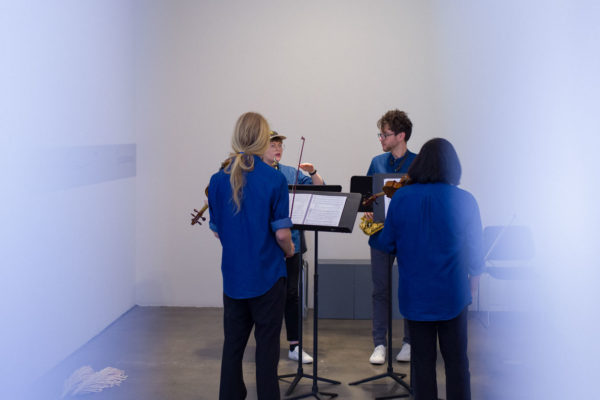 Kunsthalle for Music, Museum of Contemporary Art Santa Barbara, 2019, Courtesy MCASB, Photo: Alex Blair.