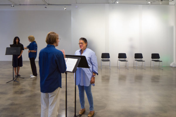 Ari Benjamin Meyers, <em>Duet</em>, 2014, Kunsthalle for Music, Museum of Contemporary Art Santa Barbara, 2019, Courtesy MCASB, Photo: Alex Blair.
