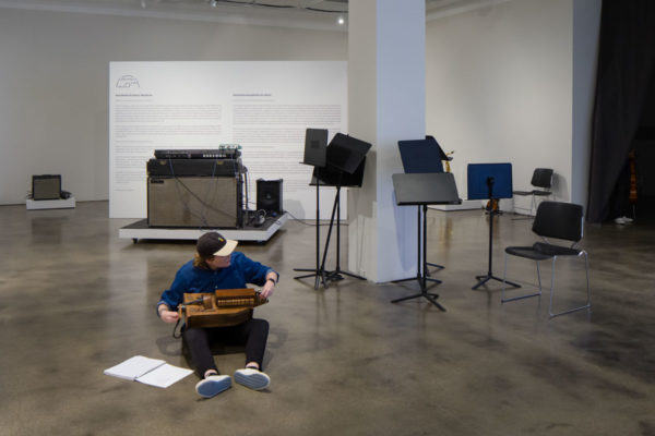 Jonathan Bepler, <em>11 Stages of Engagement</em>, 2018, Kunsthalle for Music, Museum of Contemporary Art Santa Barbara, 2019, Courtesy MCASB, Photo: Alex Blair.