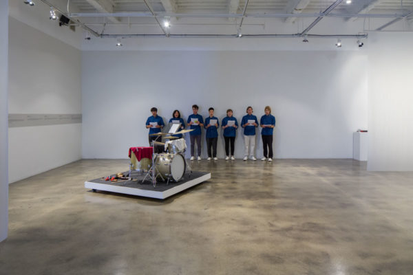 Ari Benjamin Meyers, <em>Anthem</em>, 2017, Kunsthalle for Music, Museum of Contemporary Art Santa Barbara, 2019, Courtesy MCASB, Photo: Alex Blair.