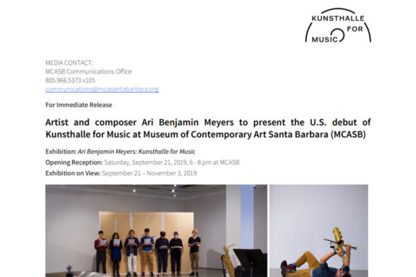 Press Releases Archives Museum Of Contemporary Art Santa