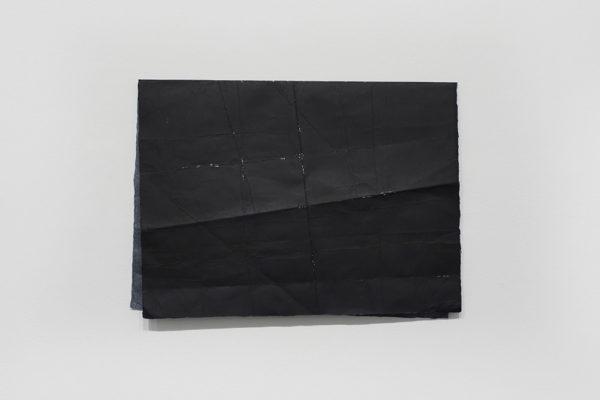 N. Dash, <em>Commuter (3)</em>, 2019, Acrylic, paper, 15.25 x 21 in (38.735 x 53.34 cm), Courtesy the Artist and Museum of Contemporary Art Santa Barbara, Photo: Alex Blair.