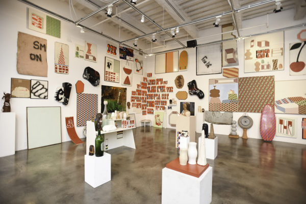 Barry McGee: SB Mid Summer Intensive, Installation View, Museum of Contemporary Art Santa Barbara, 2018, Photo: Brian Forrest.