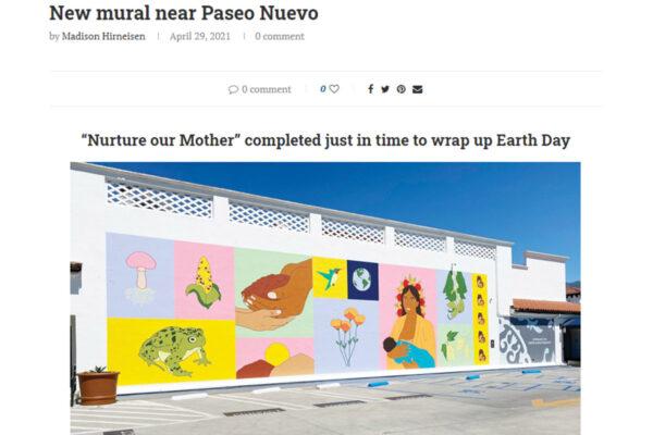 News Press mural header image